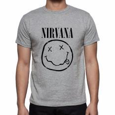 Thanks Mother Kaos Distro kaos 3d kaos pria kaos musisi musik band Nirvana Dark - Abu Misty