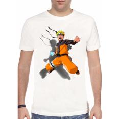 Toko Thanks Mother Kaos Distro Kaos 3D Kaos Pria Kaos Naruto Angry Putih Lengkap