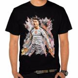 Jual Thanks Mother Kaos Distro Kaos 3D Kaos Pria Kaos Pemain Bola Cristiano Ronaldo Try Black Hitam Satu Set