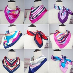 The autumn of the spring is new style of small silk kerchief silk kerchief silk ans stain high level 100 take bank occupation stewardess scarf scarf the turban is female - intl