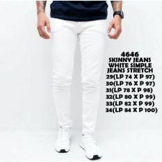 the most - Celana Jeans Pull & bear skinny jeans lentur warna hitam /putih /navy /biru celana pria modis keren celana pencil/pensil terlaris termurah celana ketat melar nyaman di pakai celana cowok fashion