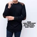 Jual The Most Sweatshirt Sweater Hitam Polos Pacth Kaos Tangan Panjang Kaos Oblong Kerah Bulat Kerah Lipat Sweatshirt Sweater Kaos Distro Casual Formal Kerja Kantor Atasan Pria Fashion Pria Kaos Polos Animasi Kaos Superhero Batik Baju Hangat Branded
