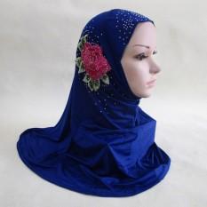 Mu Biji-bijian Artefak Kartu Turban dari Muslem Wanita Es Sutra Kenyamanan Sarung Kepala Langsung Set Kepala untuk jilbab Malaysia Adalah Gaya Baru-Internasional
