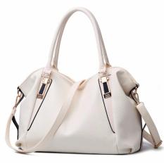 Baru 2017 Leather Handbag Wanita Modis Single Shoulder Bag Big Jumbai Tas SATU Bahu Tas Bahu-Internasional