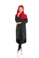Baru Muslim Panjang Kaos Kemeja Warna Empat Putaran dari Penjualan Modis Fashion Pambabaeng Damit Grosir- INTL