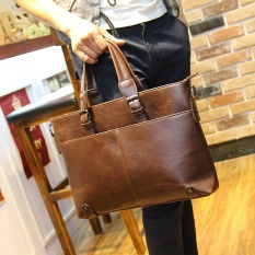 The new style of business recreational male wraps to revive old customs a briefcase a Han Ban man handbag list the shoulder is inclined to across tide original design - intl