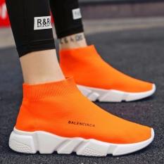 Gaya Baru Tinggi Membantu Bernapas Kaus Kaki Sepatu Sepatu Kepribadian Trend Pecinta Kasual Sepatu Siswa Sepatu Olahraga Pria Sepatu-Intl