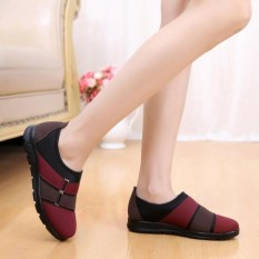 Jual The Old Lady Beijing Shoes Pedal Comfort Soft Breathable Antiskid Shoes Intl Grosir