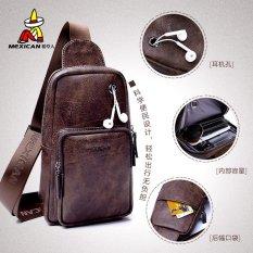 Orang-orangan Sawah Mens Casual Pria Tas Selempang Tas Olahraga Smallbackpack Pocket Bag Satchel Korea Fashion Tide-Intl