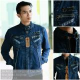 Harga Theberry Jaket Jeans Denim Branded