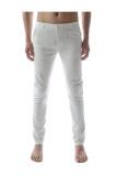 Beli Thelees Lurus Slim Celana Elastis Putih Online Terpercaya