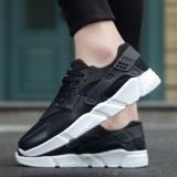 Spek Tebal Bawah Sepatu 2017 Perempuan Bernapas Mesh Olahraga Sepatu Sepatu Kasual Street All Match Putih Sepatu Sepatu Untuk Siswa Muda Intl