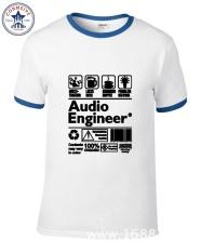 THW Seksi Penjualan Campur Warna Pakaian Kasual atau Cool. An Engineer Multitasking Bir Kopi Masalah Lucu Kaus untuk Pria Pendek Lengan-Internasional