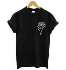Thwl Apa Tanda Zodiak Anda Huruf Cetak Kaos Wanita Kasual Katun Lucu Baju untuk Lady Black Top Tee Hipster Z-190-Intl