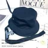 Harga Tianquan Korea Fashion Style Hitam Dilipat Pria Dan Wanita Topi Ember Topi Hitam Indonesia