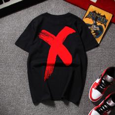 Toko Tide Merek Fashion Untuk Pria Dan Wanita T Shirt Katun Dicetak Lengan Pendek T Shirt Dt254 Hitam Baju Atasan Kaos Pria Kemeja Pria Murah Tiongkok
