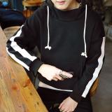 Ongkos Kirim Tide Merek Korea Siswa Laki Laki Musim Gugur Qiuyi Sweater Y35 Hitam Baju Atasan Sweter Pria Di Tiongkok