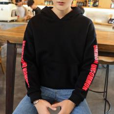 Promo Tide Merek Korea Siswa Laki Laki Musim Gugur Qiuyi Sweater Y39 Hitam Baju Atasan Sweter Pria Tiongkok