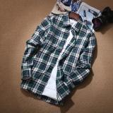 Diskon Kemeja Gaya Jepang Musim Gugur Baju Dalaman Pria Kasual 13 Warna Baju Atasan Kaos Pria Kemeja Pria Tiongkok