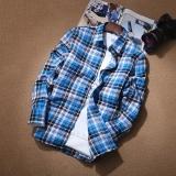 Beli Kemeja Gaya Jepang Musim Gugur Baju Dalaman Pria Kasual No 10 Warna Baju Atasan Kaos Pria Kemeja Pria Dengan Kartu Kredit