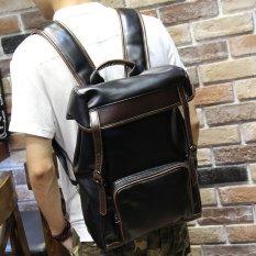 Tidog Tas Punggung Jalan-jalan Pria Korea Tas Pelajar Kasual Komputer Bagbackpacks-Intl