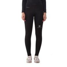 Tiento Baselayer Celana Panjang Ketat Hitam Silver Leging Pants Legging Wanita dan Pria Compression Lari Senam Zumba Yoga Running Futsal Sepakbola Renang Diving Voli Sepeda Original