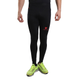 Tiento Baselayer Manset Rash Guard Compression Long Pants Black Red Original Terbaru