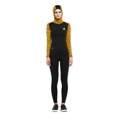 Tiento Hitam Kuning Wetsuit Baju Renang Hoodie Original Promo Beli 1 Gratis 1