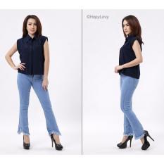 Beli Tiffany Hw Cutbray Cutbray Duyung Biru Muda Jeans Asli