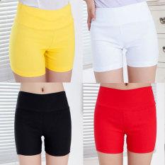 Jual Beli Tiga Poin Mm200 Anti Perempuan Bagian Tipis Bawahan Celana Pendek Dalaman Celana Setelah Saku Putih Tiongkok