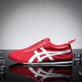 Ulasan Tiger Loafer Sepatu Wanita Arthur Tiger Olahraga Sepatu Sepatu Lari Sepatu Kanvas Remaja Sepatu Merah Putih Intl