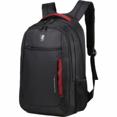 Toko Tigernu Multifungsi Black Red Tas Laptop 17 3 Laptop Backpack Sch**l Bag Hitam Online Di Tiongkok