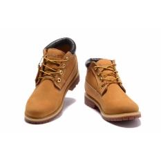 Toko Timberland Men S Waterproof Chukka Boots Gandum Nubuck Eu 36 45 Intl Terlengkap Di Tiongkok
