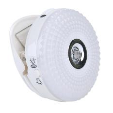 Tinpsy [Rilis Terbaru] 2 In 1 Selfie Ring Light, KOBWA USB Rechargeable Mini Ring Isi Cahaya dengan Air Replenishing Humidifier 2 Mode Campuran Warna Selfie LED Light, Sesuai dengan Ponsel Pintar Tablet-Intl