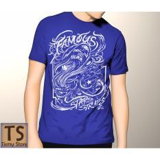 Tismy Store Kaos Famous PC2 - Biru