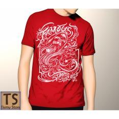 Tismy Store Kaos Famous PC2 - Merah