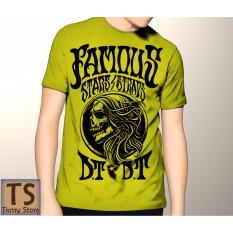 Tismy Store Kaos Famous Stars DT - Kuning