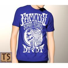 Tismy Store Kaos Famous Stars DT PC2 - Biru
