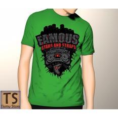 Tismy Store Kaos Famous_2 - Hijau
