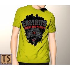 Tismy Store Kaos Famous_2 - Kuning