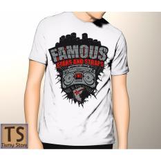 Tismy Store Kaos Famous_2 - Putih