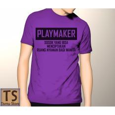 Tismy Store Kaos Playmaker #1 PC1 - Ungu