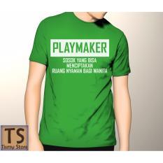 Tismy Store Kaos Playmaker #1 PC2 - Hijau