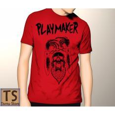 Tismy Store Kaos Playmaker PC1 - Merah