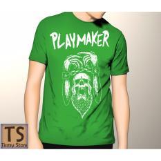Tismy Store Kaos Playmaker PC2 - Hijau