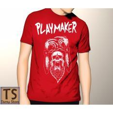 Tismy Store Kaos Playmaker PC2 - Merah