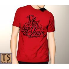 Tismy Store Kaos PSD_2 PC1 - Merah