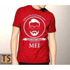 Jual Tismy Store Kaos Semua Pria Diciptakan Sama Tetapi Yang Terbaik Lahir Di Bulan Mei 3 Pc2 Merah Branded Original