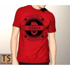 Harga Tismy Store Kaos Semua Pria Diciptakan Setara Tapi Yang Terbaik Lahir Di Bulan Agustus 2 Pc1 Merah Tismy Store Asli