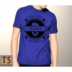 Spesifikasi Tismy Store Kaos Semua Pria Diciptakan Setara Tapi Yang Terbaik Lahir Di Bulan Maret 2 Pc1 Biru Murah